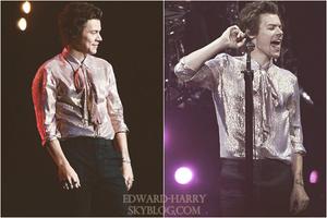 27.06 - Harry en concert au Bankers Life Fieldhouse de sa tournée 'Live On Tour' à Indianapolis - Etat Unis :