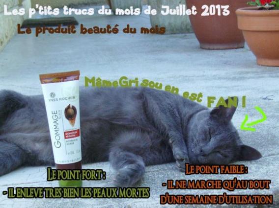 Les p'tits trucs du mois de Juillet 2013 : Le produit beauté du mois !