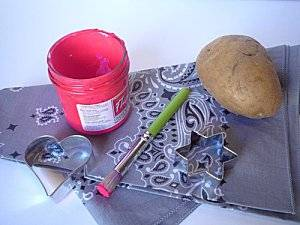 Atelier Tampons Patate !! :p