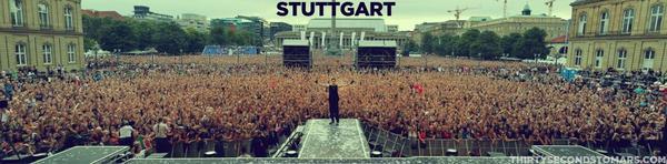 PLACEBO + 30 seconds to mars en concert à la Schlossplatz de Stuttgart le Jeudi 11 Août 2011