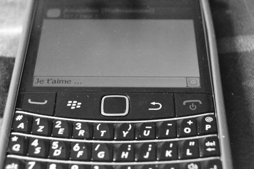 Parceque un sms peu tout changer