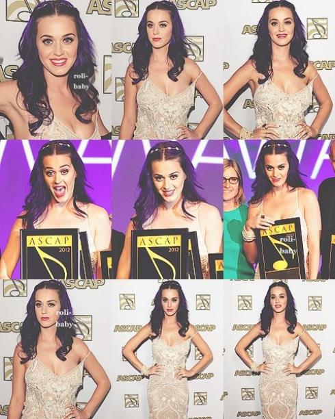 ☜♥☞Katy est aux  ASCAP Pop Awards in Hollywood☜♥☞