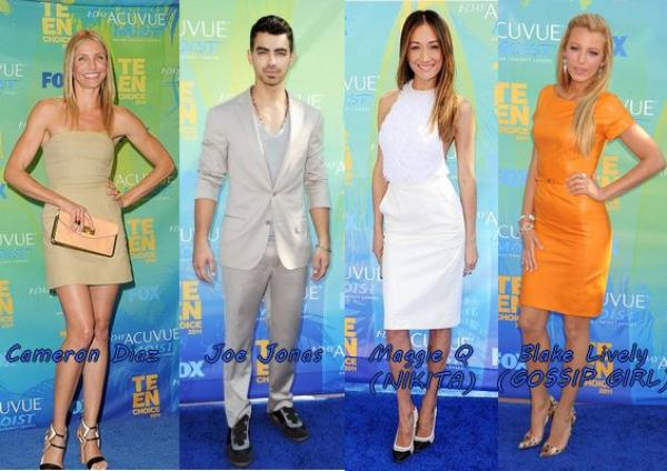 Teen Choice Awards 2011: Redcarpets