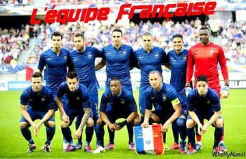 En route pour l'Euro 2012: Equipe de France