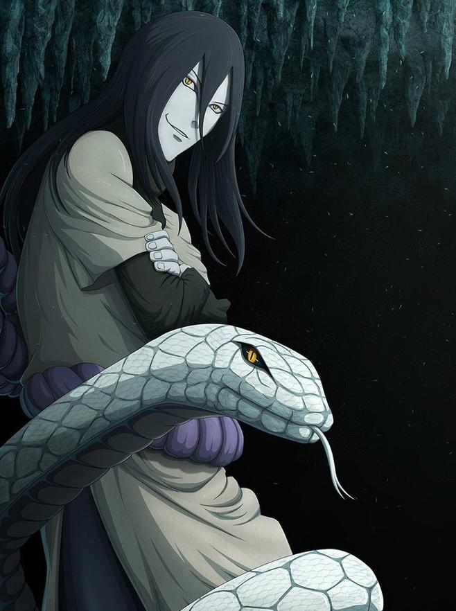Fan Fiction : Chapitre 7  - Orochimaru -