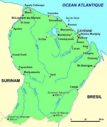pourquoi partir de Lorraine vers la Guyane française?