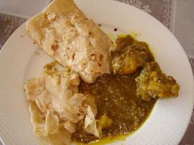 Les roti curry