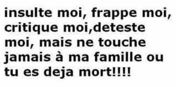 ma famille on y touche pas