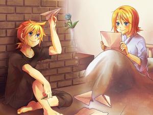 Prisonner : The Paper Plane - Len & Rin Kagamine
