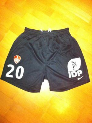 SHORT DE BREST 29 2011/2012 PORTE PAR ROMAIN POYET LORS DE TFC/SB29