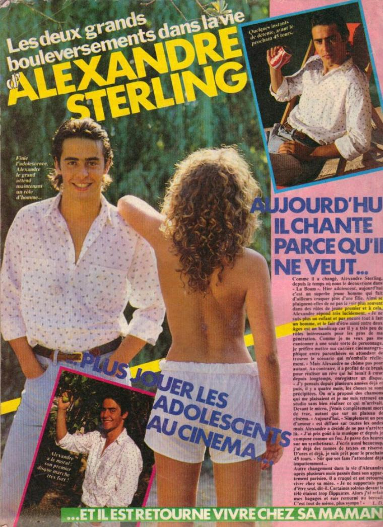 Articles  Alexandre Sterling - 1984