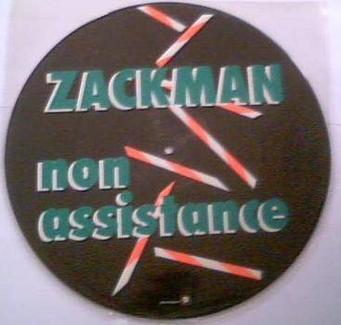 Coup d'oeil sur...  Alain Zackman - Non assistance (1988 - 1989)