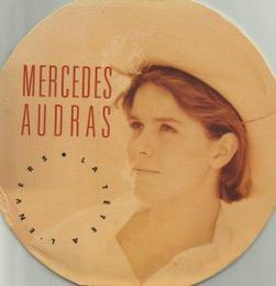 Côté promo  Mercedes Audras - La tête à l'envers (1988)