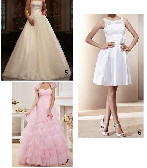 Quelle est le robe de mariée de tes rêve ?