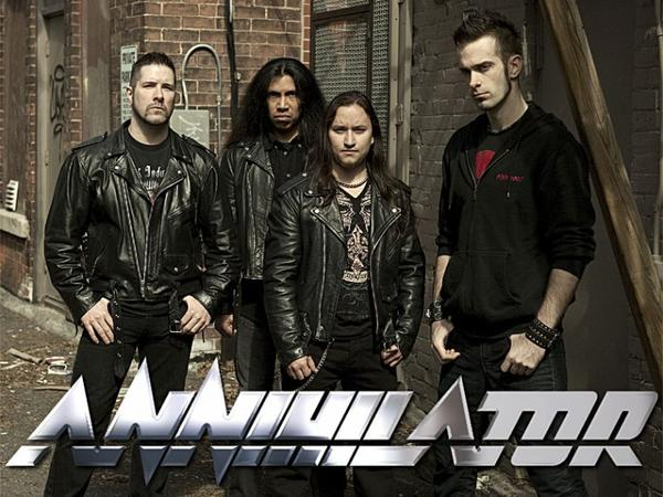 (l)(l)(l) Annihilator - No Way Out - Official Video (l)(l)(l)