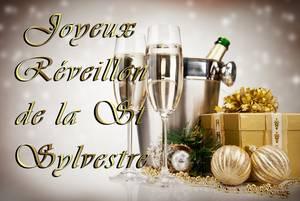 ✠ Mes chers ami(e)s je vous souhaite un Superbe Réveillon de la St Sylvestre ✠