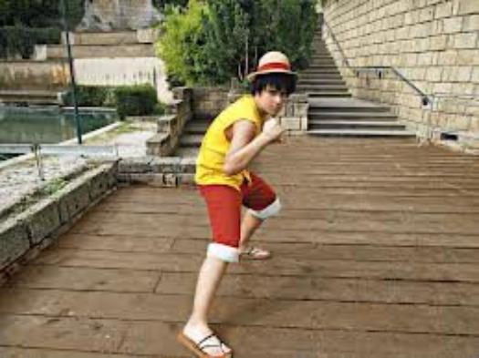 des cosplays de Luffy