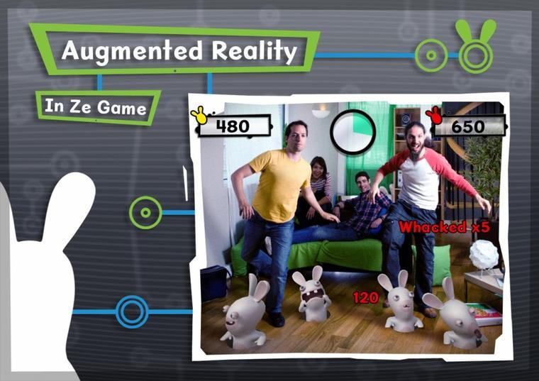 The Lapin Cretin débarque sur Kinect