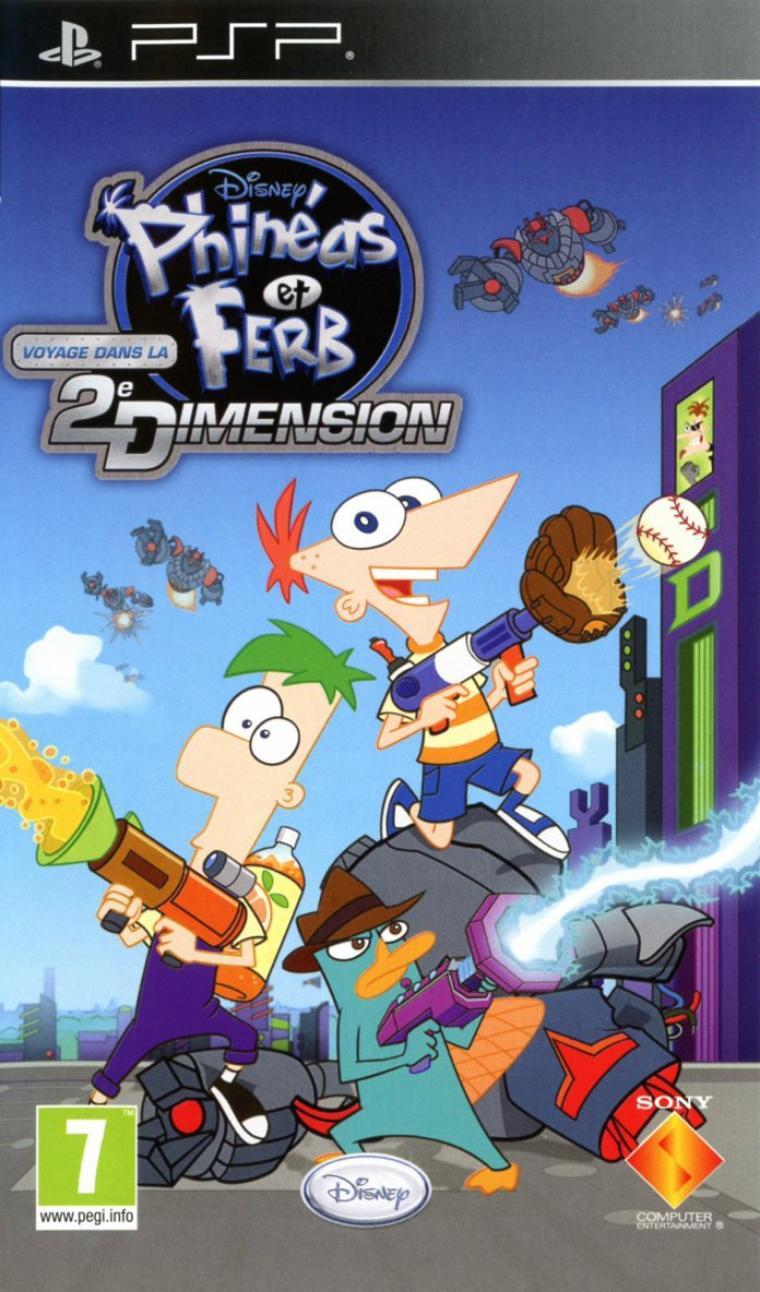 Phinéas & Ferb:Voyage dans la 2e Dimension
