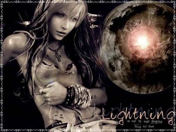Final Fantasy: Lightning/ DeviantArt