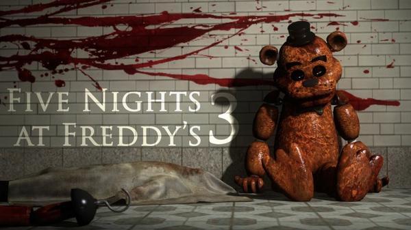 {Jeux Vidéo} Five Night at Freddy's 3