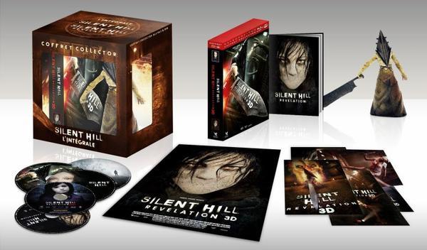 Intégrale Silent Hill coffret Blu Ray