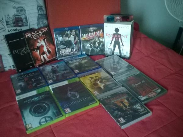 Ma collection Resident Evil