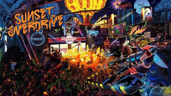 J'ai testé Sunset Overdrive