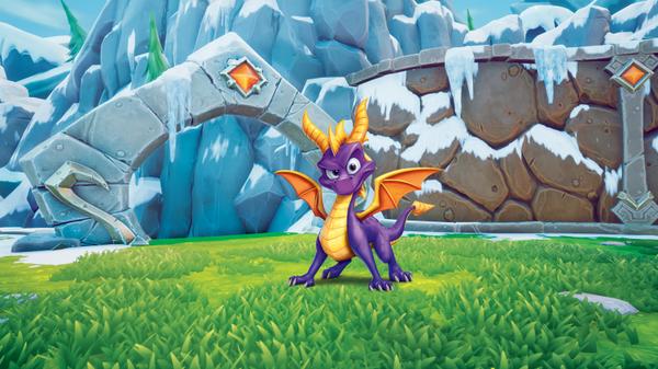 Spyro reignited Trilogy sera en Démat