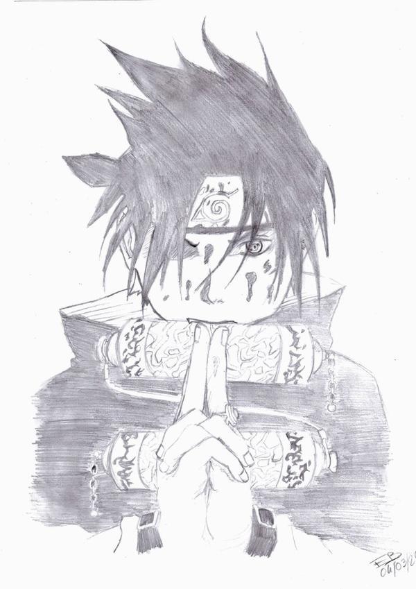 >> Dessins autres : Thème Sasuke