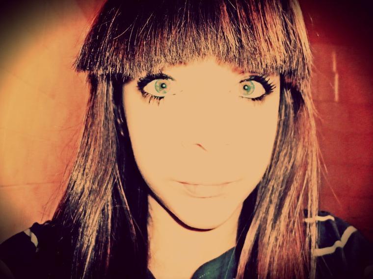 mes deux yeux vert !