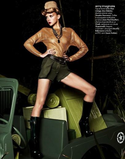 HEATHER MARKS - Elle France - Décembre 2011