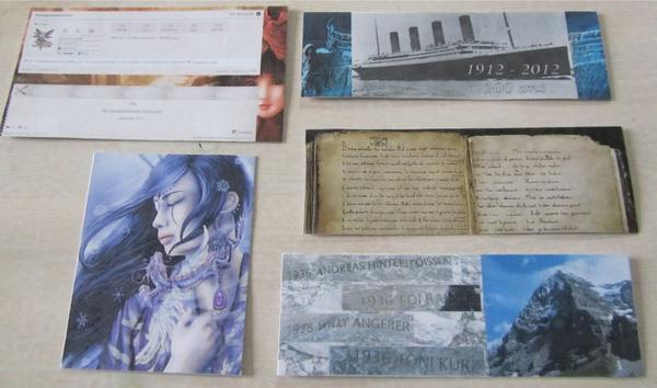 Mes Marque-Pages Personnalisés - photo avril, mai, septembre 2012, septembre 2013