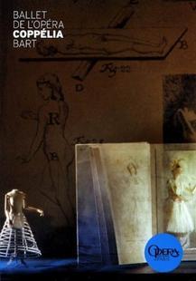 208. Programme Du Ballet De l'Opera Coppélia 2011