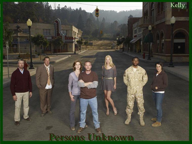 Persons Unknown ,des personnages variés