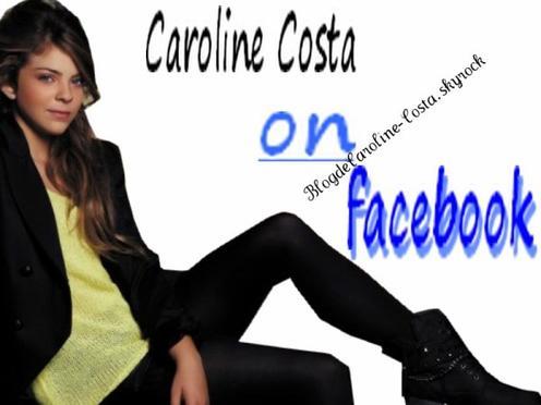 Caroline sur facebook.