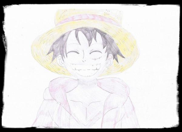 Dessin de Luffy ( One Piece)