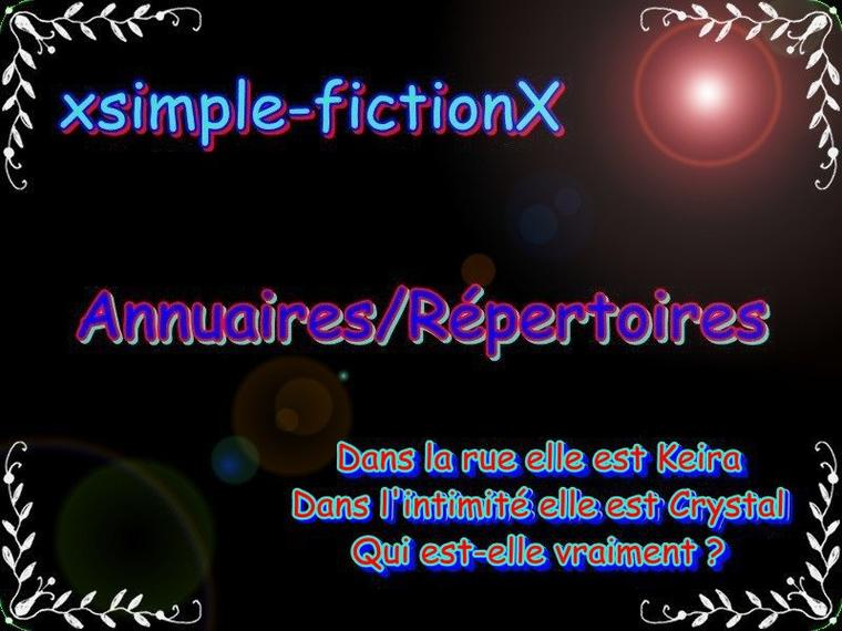 xsimple-fictionX: