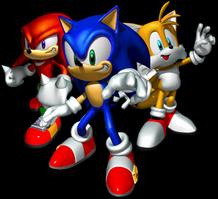 Fidget Spinner Custom - Sonic Heroes Edition