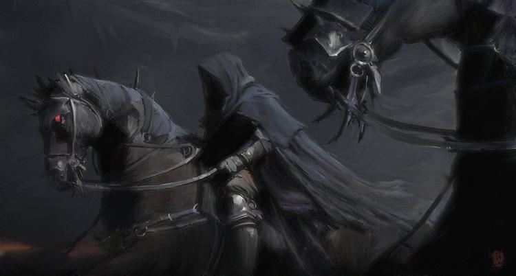 Le seigneur des anneaux : Les spectres Rois d'un temps révolu.