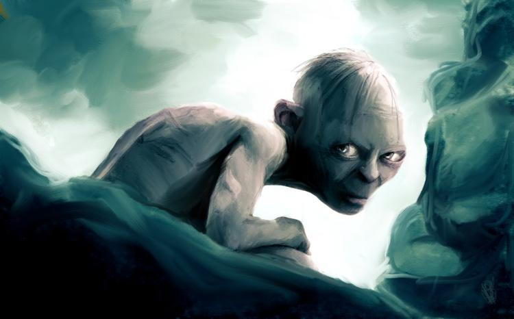 Speed Painting : Gollum