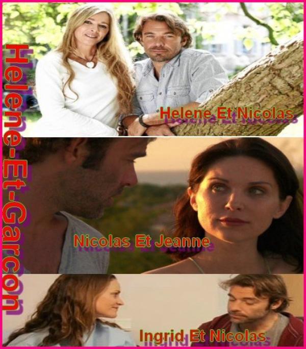 Les  Couple De Nicolas Dans Les Mystere De L'amour
