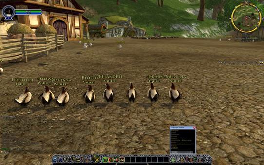 LOTRO:Courses de poulet entre membre de l'alliance