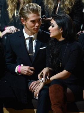 Vanessa et Austin au défilé de Victoria Secret