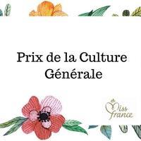 Prix de la Culture Générale 2018