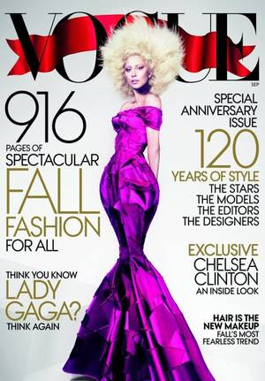 Lady Gaga photoshoot °VOGUE2012°