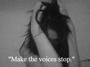 Complainte répétitive d'une fille dépressive...