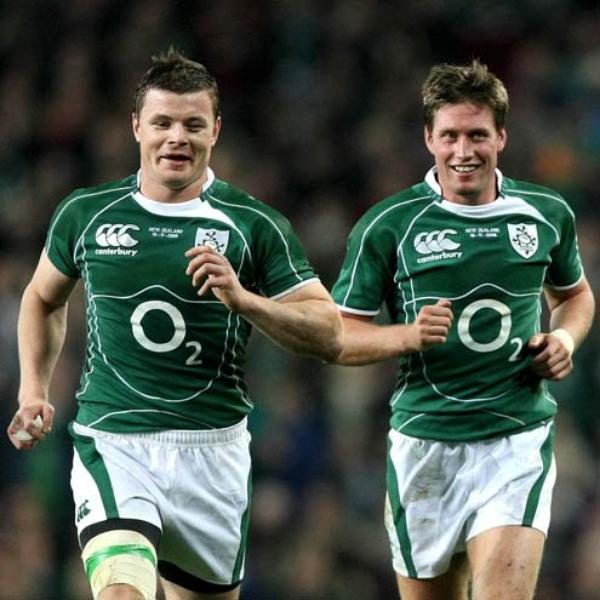 Ronan O'Gara agus Brian O'Driscoll  :) Ronan O'Gara et Brian O'Driscoll  :)