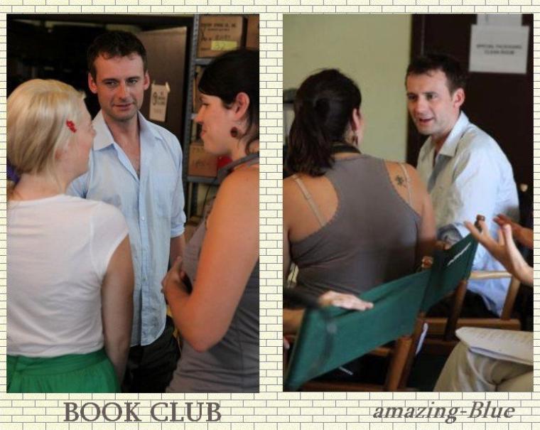 Callum Blue pour Bookclub PUB ,avril 2011