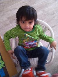 mon petit fils Lenny